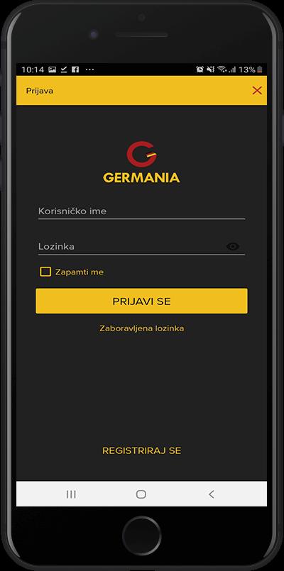 germania login
