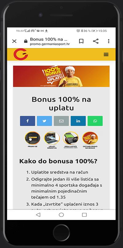 bonus 100 germania