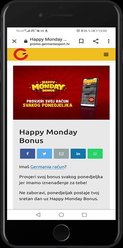 bonus happy monday