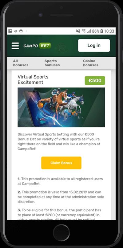 Campobet Virtualno sportsko uzbuđenje