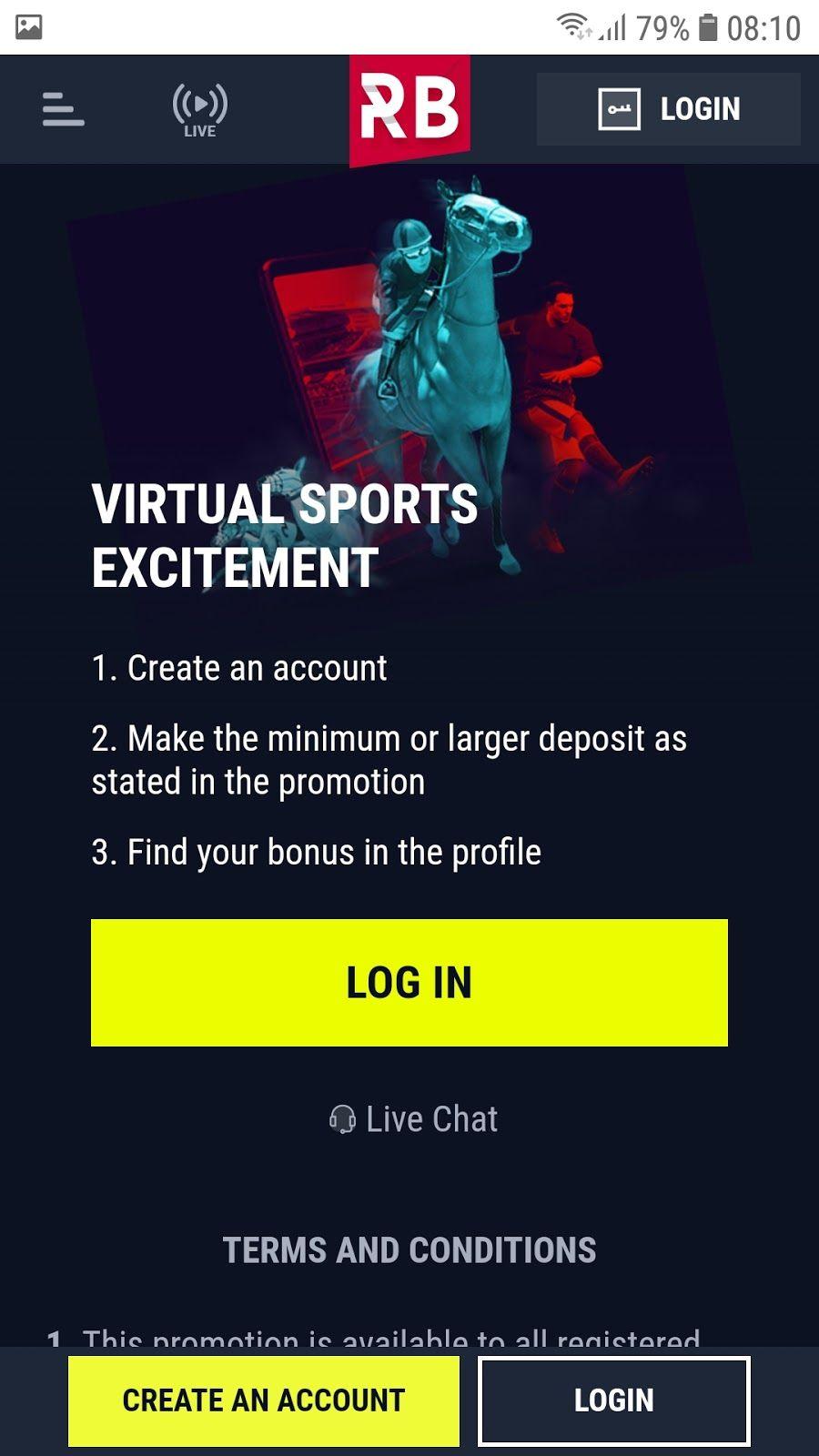 Rabona bonus za virtualno sportsko uzbuđenje