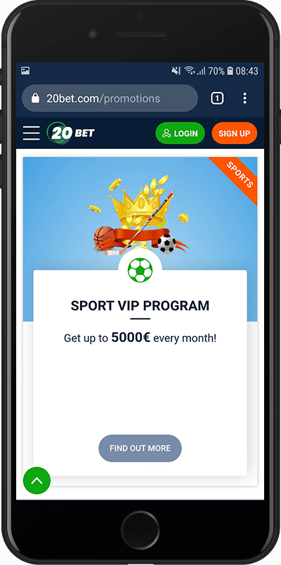 sportski VIP program